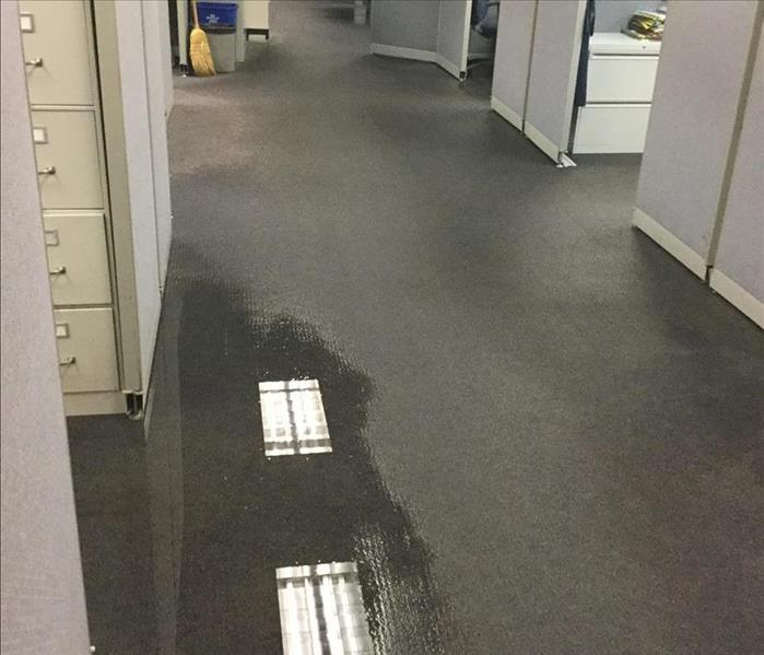 Water Damage in the office